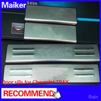 Door sill plate for Chevrolet TRAX auto part 4*4 accessories from Maiker