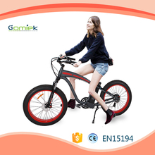 G266 Fat tire Al alloy 8FUN 48V 500w hub motor e bike with samsung battery