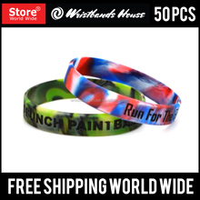 Make Custom Design Cheap Silicone Wristbands