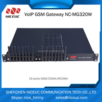 16 ports gsm voip gateway,Support Imei chanage goip gateway/eurotech gsm gateway