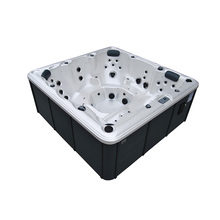 Music System Rectangular Hot Spa Tub With Air Bubble Function