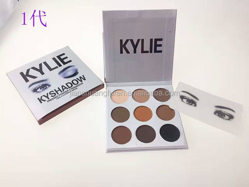Kylie Holiday Palette eye shadow 9 colors eyeshadow holiday edition charistmas edition