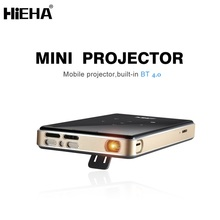 2017 Hieha Amlogic S905 Wireless Smart Portable 4k Led Home Mini Mobile Projector
