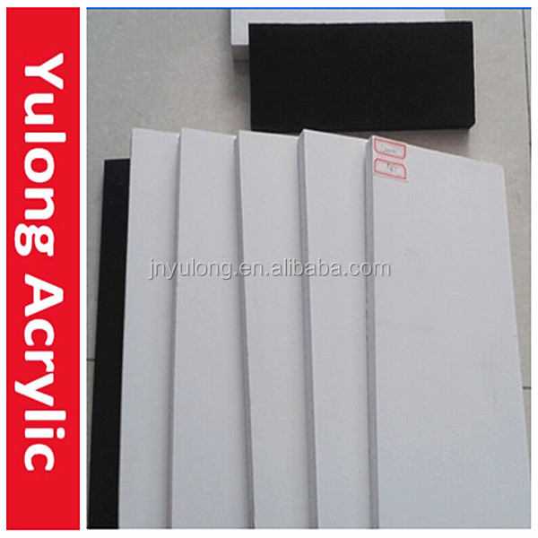 4x8 White Black PVC Flat Sheet