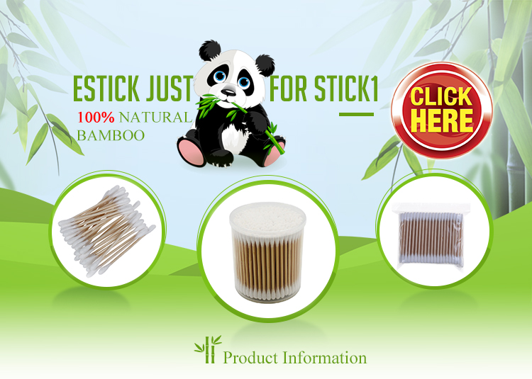 Paper box bamboo cotton buds used for cleaning
