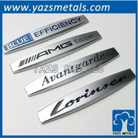 custom chrome car emblems