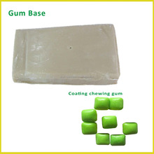 white color rubber base for bubble gum production materials