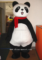 manufactory tai chi bear plush costume black and white bear look good carnival costume