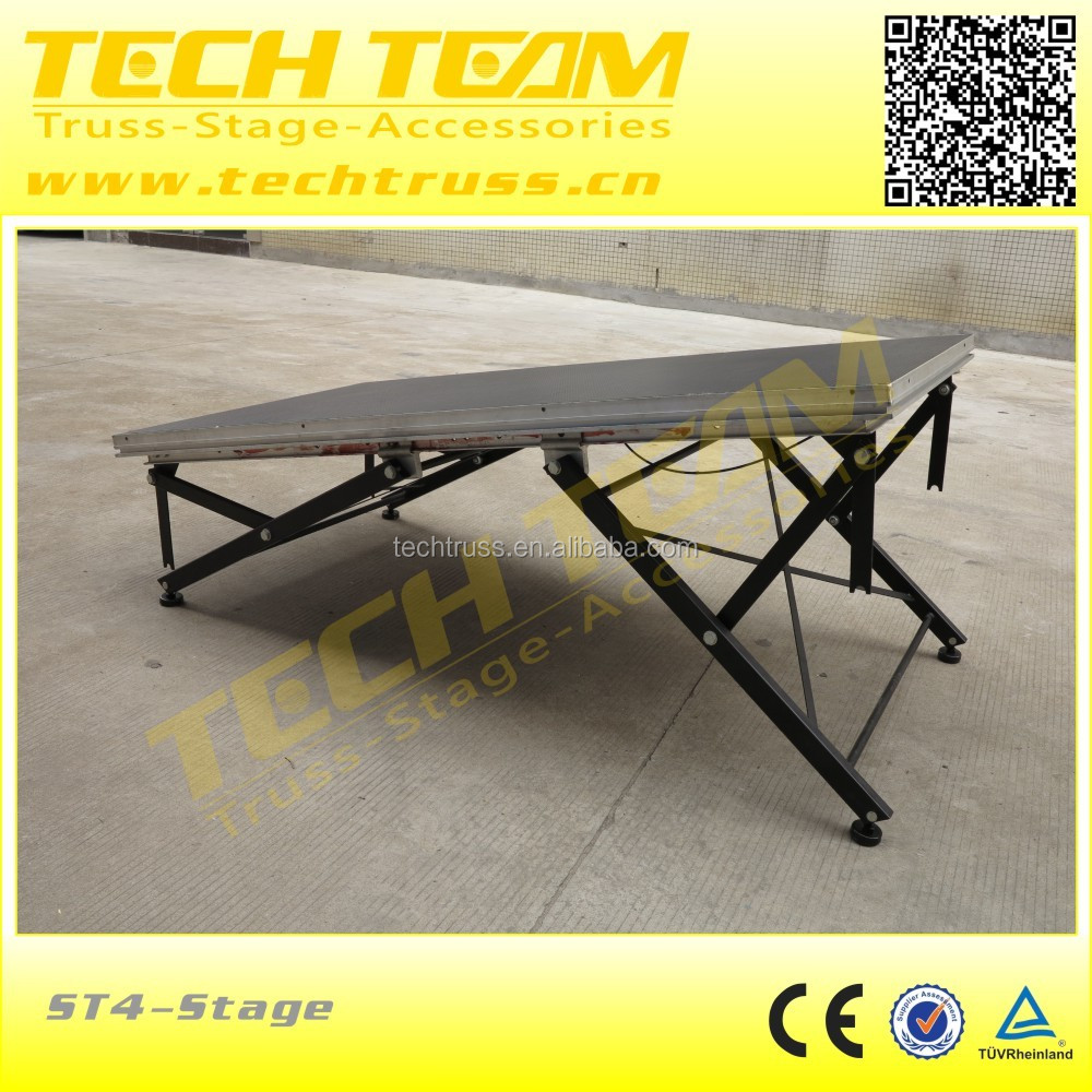 on sale aluminum portable stage cheap portable stage