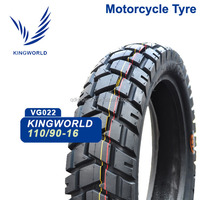 Street motorcycle 110/90-16 front tire