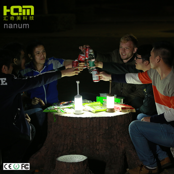 Portable Bottom Magnet Devicemulti-Function Led Camping Lamp