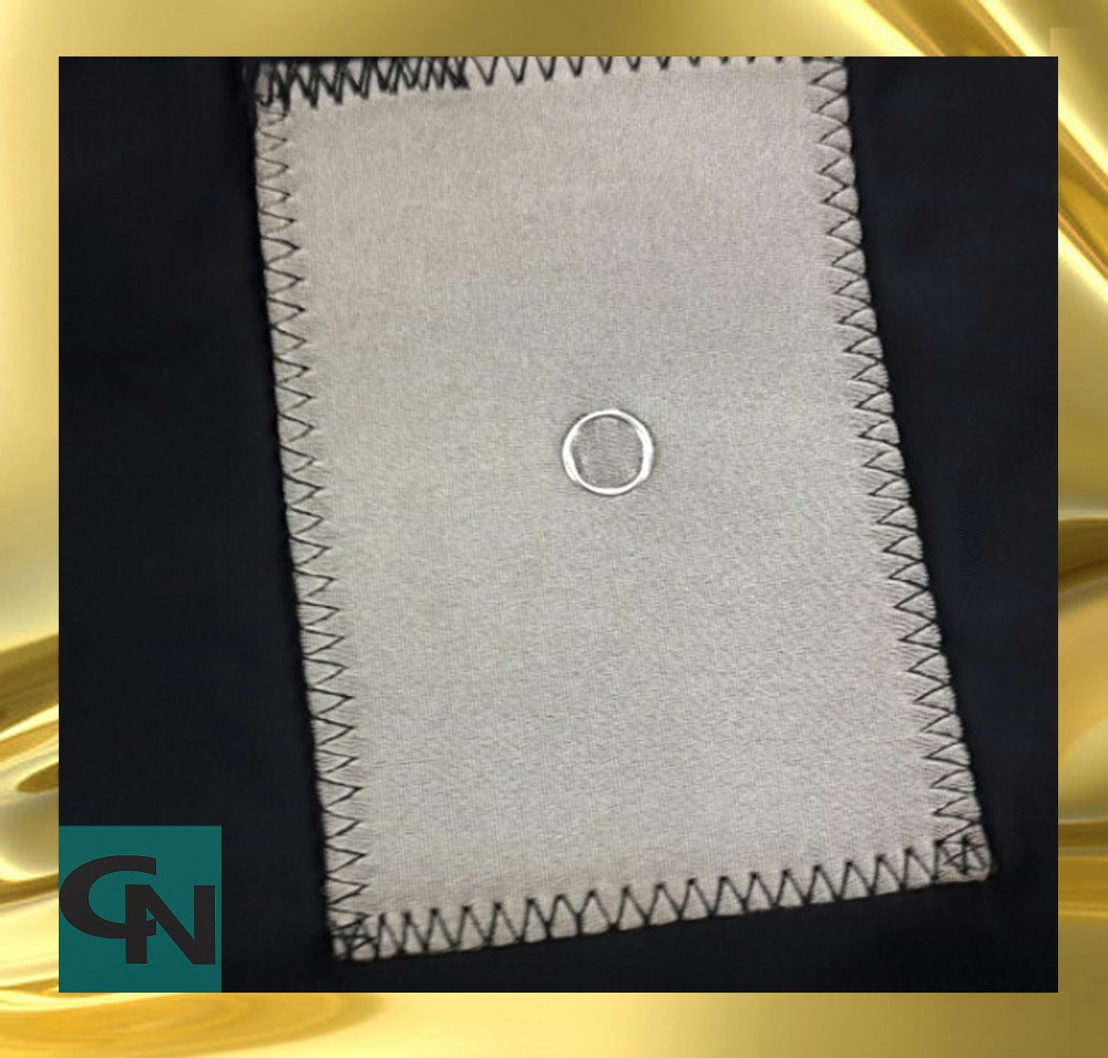 four-way stretch silver fiber conductive knitted fabric for medical electrode use