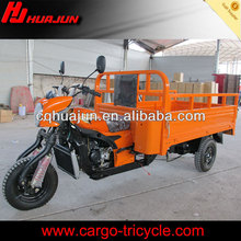 front cargo tricycle/2014 new model semi cabin tricycle