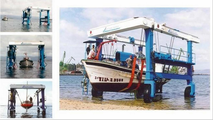 Nucleon 100t Marine Travel Lift For Sale