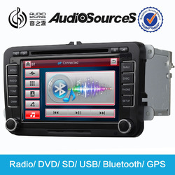 Best sale!!! unique japan car radio dvd player suitable for VW/skoda support wince 6.0 OS system