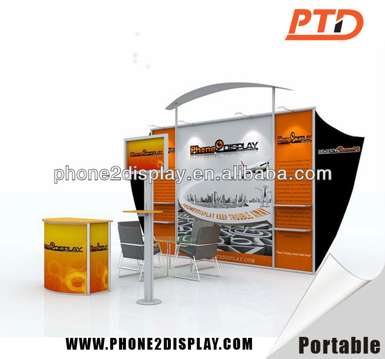 Exhibition Booth Supplier Singapore : Advertising trade show booth exhibit display buy