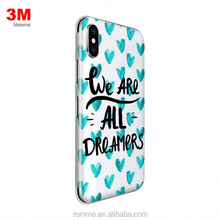 Professional custom mobile skins 3m vinyl phone back sticker for mobile phone