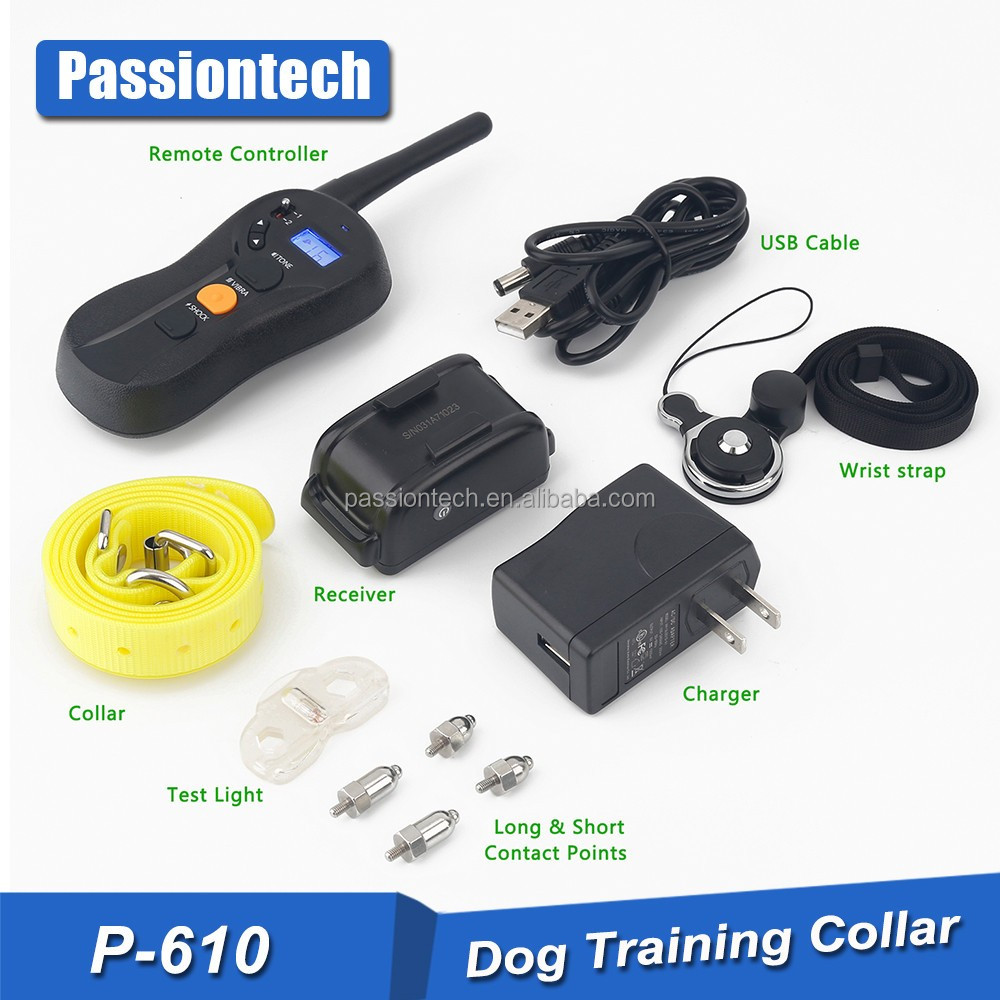 New Products 2017 Innovative Product Electric Dog Collar 800 Yards Remote Multi-Dog Training System