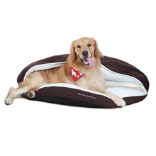 Pet cave dog bedding soft sleeping slipper shaped dog bed