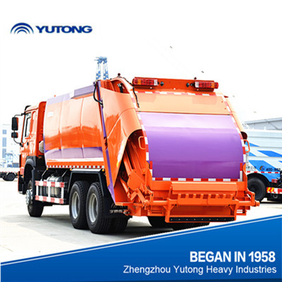 Garbage truck capacity 13 tons