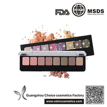 dynamic perfectly high pigment 8 colors makeup palette eyeshadow