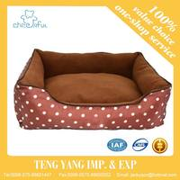Hot selling frame soft mat print fabric cushion cover dog mat pet bed