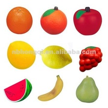Anti-stress ball in Fruit design, Fruit shaped stress ball