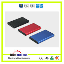Aluminum shockproof hot selling 2.5 inch usb 3.0 sata external 2.5 hdd enclosure 15mm hard drive case