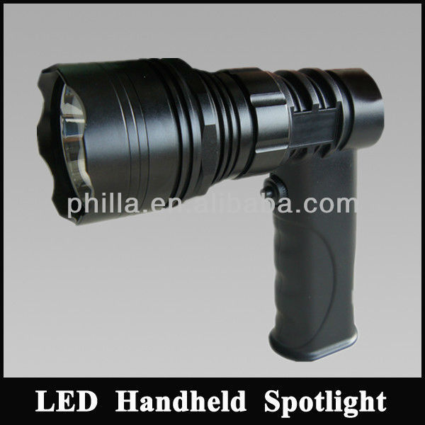 LED Flashlight Hunting Torch Light hand held 12v rechargeable