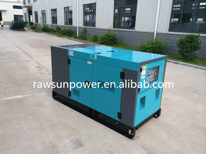 30KVA 24KW Denyo type & soundproof portable generator price for sale