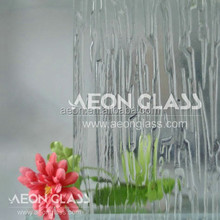 3mm, 4mm, 5mm, 6mm Clear Waterfall Figured / Patterned Glass Waterfall Glass