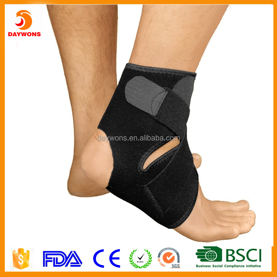 2016 New Design Daywons Breathable Neoprene Sports Ankle Support