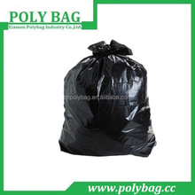 hard thickness black outdoor hard garbage bag HDPE material