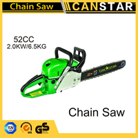 China Manufacturer And Long Handle Tree Pruning Long Pole Petrol/Gas Chain Saw 52cc
