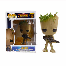 Sveda Hot Funko POP The Avenger #293 Groot Action Figure Marvel