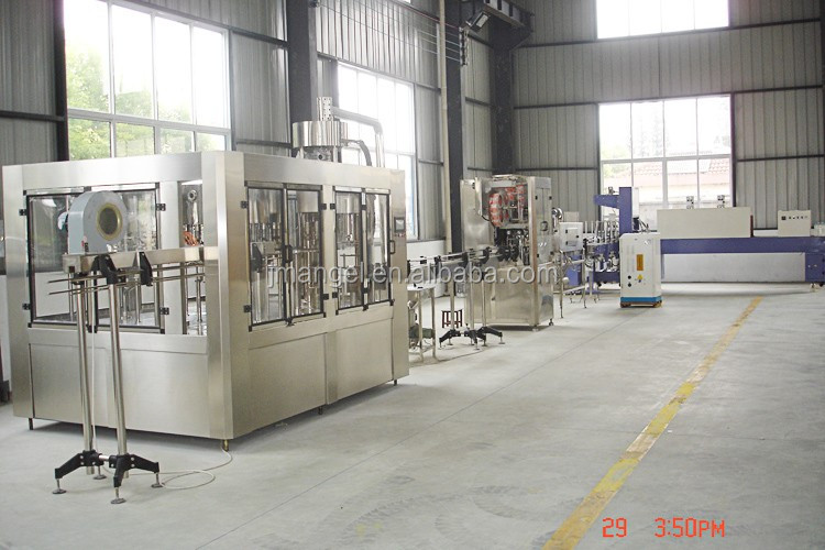 CE standard automatic plastic mineral drinking water filling machine