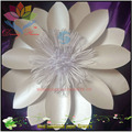 Good quality wholesale cheap artificial giant gold paper flower wall backdrop with custom design