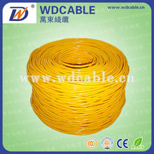 Low price cat5e color code for lan cable