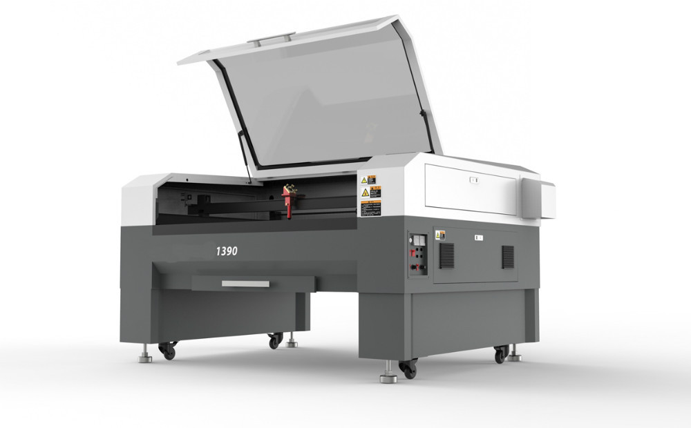 laser sticker cutting printing machine