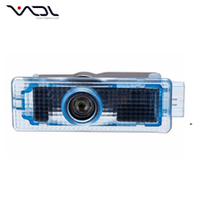 China factory supply car door decorative 5w wireless led door courtesy light with car logo