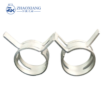 stainless steel constant tension spring type band hose clamp