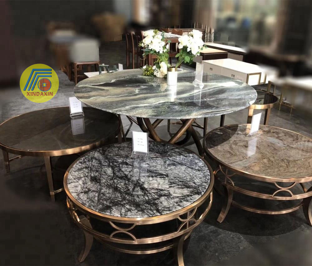 Marble Tea Table Combination Of Simple And Unusual/round Tea Table Small  Family Living Room Nordic Tea Table Creative Furniture   Buy Manufacturer  ...