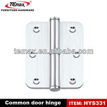 Self closing concealed cabinet door hinge