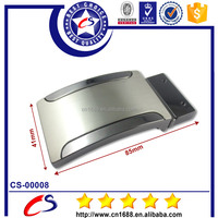 Best selling stainless steel metal quick release auto lock belt buckle