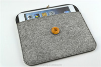 Shockproof case for iPad Air gray felt cover for iPad 5