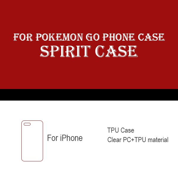 Factory wholesale pokemon go team design custom mobile phone case for iPhone 5 6 6plus 7 7plus Samsung series phone