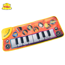 Popular Learning Crawling Playmat Musical Piano Mat Baby Playmat Musical Instruments for babies