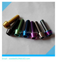 color titanium hex cap screw m5 m6 bicycle