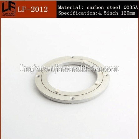 120mm hot sale various Types Lazy Susan Aluminum Turntable Bearing