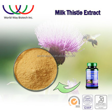 free sample ! China wholesale UV protecting liver light brown water-soluble milk thistle extract silymarin